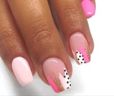 Get Nails, Fancy Nails, Perfect Nails, Gorgeous Nails, Short Gel Nails, Cute Gel Nails, Pink Gel Nails, Oval Nails, Matte Nails