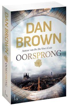 Boek cover Oorsprong van Dan Brown