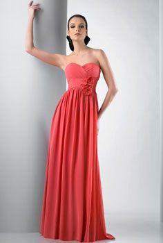 red bridesmaid dresses