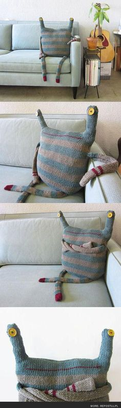 friendly cushion :)