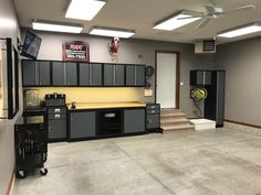 Customers send in photos of their garage for free gifts. We carry thousands of items for your garage. Send in your garage photo. Garage Tools, Garage Shop, Garage House, Garage Plans, Car Garage, Mechanic Garage, Man Cave Garage, Garage Workshop Organization, Garage Storage