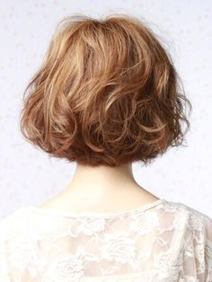 かーりーぼぶ Short Medium Length Hair, Short Hair Cuts, Medium Hair Styles, Curly Hair Styles, Simply Hairstyles, Curly Bob Hairstyles, Cool Hairstyles, Shot Hair Styles, Hair Images