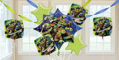Teenage Mutant Ninja Turtles Balloons - Themed Birthday Balloons - Birthday Balloons - Boys Birthday - Birthday Party Supplies - Categories - Party City