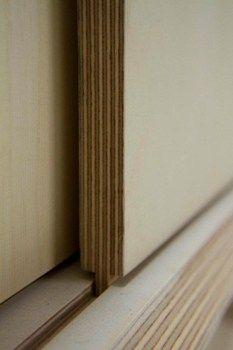Plywood detail...