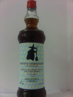 Ratafia embruixada de Centelles 2013. Ampolla 70 cl. Preu: 15 €