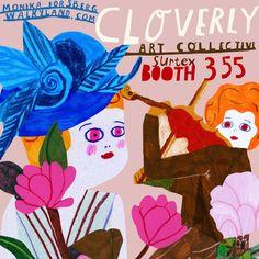 Cloverly Art Collective at Surtex -Monika Forsberg