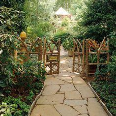 12 Stylish Garden Gates