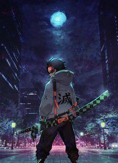 Anime: Demon Slayer Kimetsu No Yaiba Otaku Anime, Anime Neko, Fanarts Anime, Cool Anime Wallpapers, Anime Wallpaper Live, Animes Wallpapers, Hipster Wallpaper, Naruto Wallpaper, Dark Anime Guys
