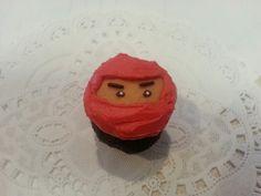 Ninjago cupcake by A Cupcake Queen - Crystal Gruber.