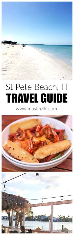 Looking for the perfect affordable getaway?! St. Pete Beach, Florida is your destination! This stunning beach has white sand, and is filled with affordable dining and stay!