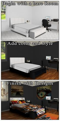 Our One Of A Kind Build A Room Tool To Create Your Own Dream Bedroom