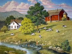John Sloane - another dreamy painting - thank you Cindy