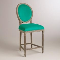 One of my favorite discoveries at WorldMarket.com: Emerald Paige Counter Stool