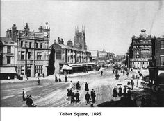 Talbot Square Blackpool, Photographs, Photos, Vintage Images, Places To Go, England, Memories, Retro, Vintage Pictures