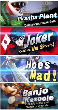 But honestly Banjo might fuck up the Select Screen if Echoes and Miis aren't stacked. Super Smash Bros Memes, Nintendo Super Smash Bros, Super Mario Bros, Super Smash Ultimate, I Dont Know Anymore, Fandom Memes, Dragon Quest, Fighting Games, Gaming Memes