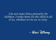 Which is why Grandpa loves Disney!