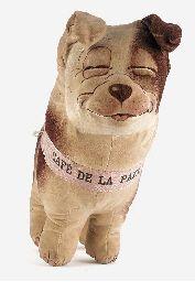A rare Dean's Rag Book Co. 'Smiler' dog  Me_  Orig. Sandria Holva  - loads old toys kitsch historical ++