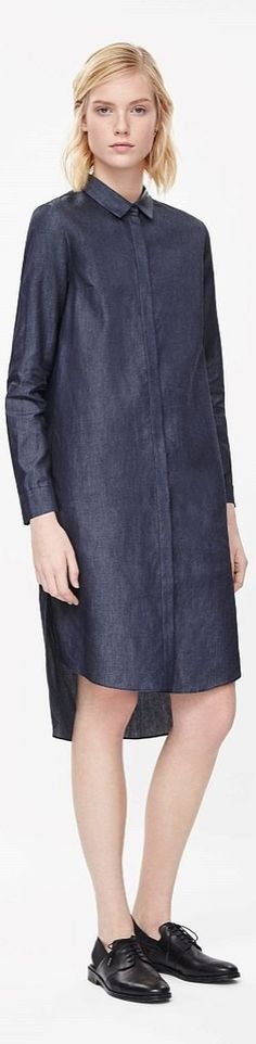 A COS Denim shirt dress