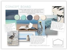 My favorite kind of concept board is the one where we are looking for feeling in a design! #eastcoastresidence