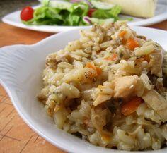 Crockpot Chicken and Wild Rice