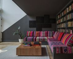 AphroChic: A Brooklyn Home With A Vibrant Color Palette