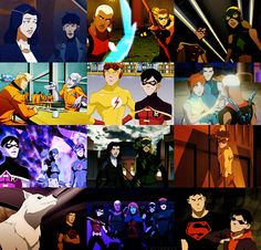 Young Justice Photoset