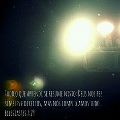 Fé eclesiastes sabedoria biblia palavra de Deus