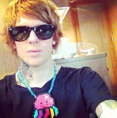 Alan Ashby.... Worlds most attractive ginger ever and he is wearing a squidgy necklace