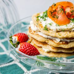 Are you looking for a special taste? Salty Pancakes from brand new frying pan Remoska® with Smoked Salmon are going to be legendary. Smoked Salmon, Fries, Pancakes, Breakfast, Ethnic Recipes, Instagram, Food, Morning Coffee, Essen