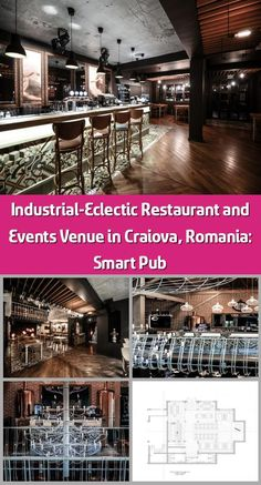 Bucharest-based studio Yellow Office completed the design and development of a high quality restaurant and events venue near Preajba lake in Craiova, Romania. Retro Light Bulbs, Eclectic Restaurant, Yellow Office, Natural Wood Flooring, Pub Decor, Retro Lighting, Main Theme, Comfortable Sofa, Bucharest