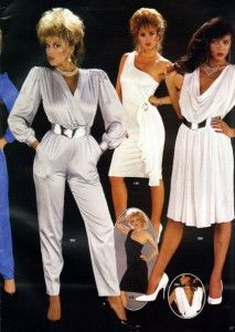 House of Ollichon loves...80's Glam Jumpsuit. #jumpsuit #retrojumpsuit #retrofashion