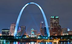 On this day in 1965, construction is completed on the Gateway Arch, a spectacular 630-foot-high parabola of stainless steel marking the Jefferson National Expansion Memorial on the waterfront of St...