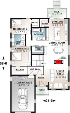 39 best open floor plan homes images in 2019 small house plans rh pinterest com