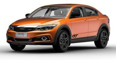 Qoros Previews New 3 GT Crossover And Electric Concept Before Guangzhou Auto Show #China #Electric_Vehicles