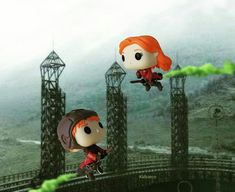 Ginny and Ron playing Quidditch. Harry Potter Pop Vinyl, Harry Potter Toys, Harry Potter Birthday, Hermione Granger, Draco Malfoy, Funko Pop, Harry Potter Activities, Pop S, Lili Reinhart