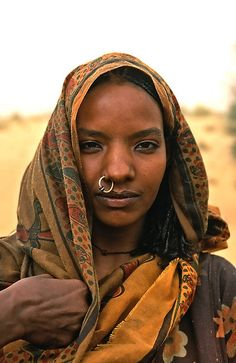 Nokou woman, Chad