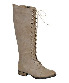 Another great find on #zulily! Ice Outlaw Lace-Up Boot by Breckelle's #zulilyfinds 24.99