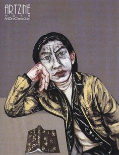 Zeng Fanzhi (曾梵志; b1964, Wuhan, Hubei Province, China; based in Beijing)