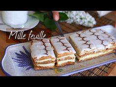 Make delicate and delicious mille feuille at home with this easy recipe. We show you some ingenious tips and tricks that'll result in crisp layers that are easy to slice