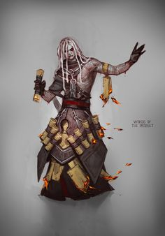 ArtStation - Tatiana Vetrova's submission on Ancient Civilizations: Lost & Found - Character Design