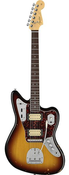 FENDER Kurt Cobain Jaguar - 3 Tone Sunburst | Chicago Music Exchange