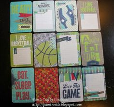 Pam's Crafty Creations: CTMH Page Protectors, Picture My Life & Albums Sleep Love, Page Protectors, Project Life, Games To Play, Albums, My Life, Scrapbooking, Activities, Crafty