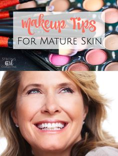 As our skin changes when we age, our makeup needs to change as well. Here are some helpful makeup tips for mature skin to hydrate, plump, minimize fine lines and wrinkles and add youthful glow.