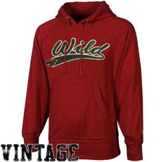 Old Time Hockey Minnesota Wild Hudson Pullover Hoodie - Red