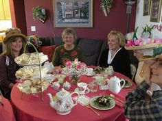 What's Cooking With Rhonda: The Tea Party......with recipes.