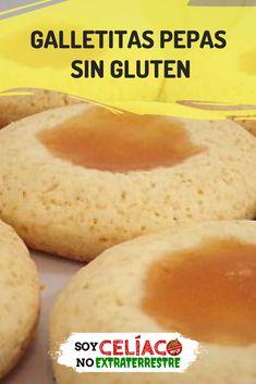 Con esta receta vas a poder preparar unas galletitas pepas sin gluten que te van a encantar.  #Galletas #GalletasDulces #SinGluten #GlutenFree #SinTacc