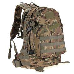 Qualità eccellente 55l 3d outdoor sport tattico militare dello zaino dello zaino borsa per camping viaggio escursionismo