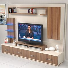 Riva tv Ünitesi Ünitechi home furniture Tv Unit Interior Design, Tv Unit Furniture Design, Tv Furniture, Tv Wall Design, Room Interior, Tv Unit Decor, Tv Wall Decor, Tv Wanddekor, Tv Wall Cabinets