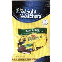 Weight Watchers Candy Mint Patties Covered in Rich Dark Chocolate -- 3.25 oz