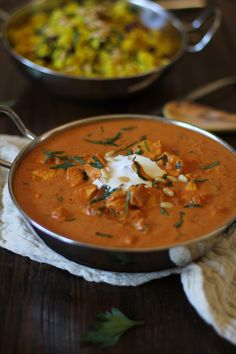 Crock Pot Chicken Tikka Masala - a comforting and delicious Indian dish made easy in your slow cooker!